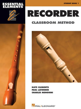 ESSENTIAL ELEMENTS FOR RECORDER EE BOOK ONLY