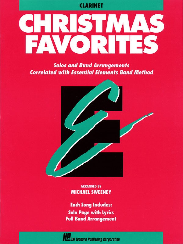ESSENTIAL ELEMENTS CHRISTMAS FAVORITES CLARINET