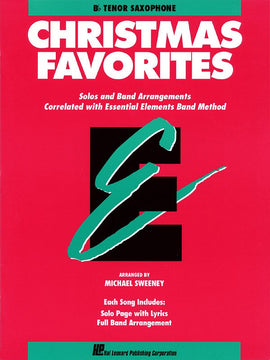 ESSENTIAL ELEMENTS CHRISTMAS FAVORITES TENOR SAX