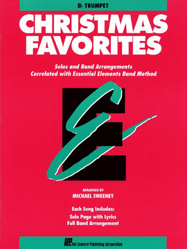 ESSENTIAL ELEMENTS CHRISTMAS FAVORITES TRUMPET