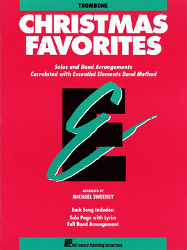 ESSENTIAL ELEMENTS CHRISTMAS FAVORITES TROMBONE