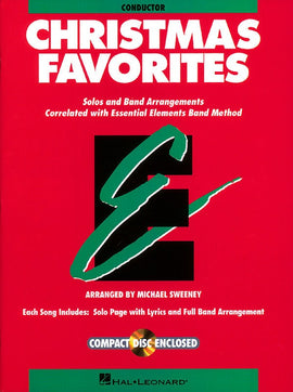 ESSENTIAL ELEMENTS CHRISTMAS FAVORITES CONDUCTOR/CD
