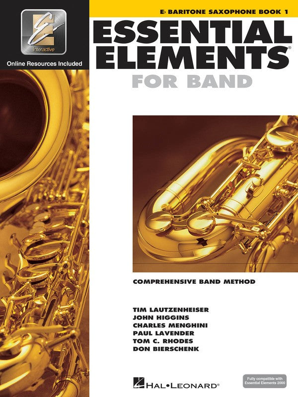 ESSENTIAL ELEMENTS FOR BAND BK1 BAR SAX EEI