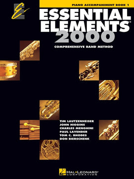ESSENTIAL ELEMENTS 2000 BK1 PIANO ACCOMPANIMENT