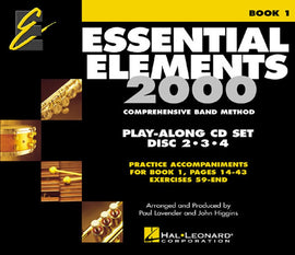 ESSENTIAL ELEMENTS FOR BAND BK1 3 CD PK
