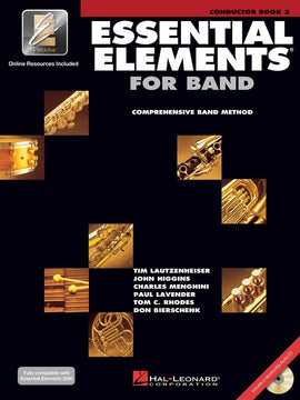 ESSENTIAL ELEMENTS FOR BAND BK2 CONDUCTOR EEI
