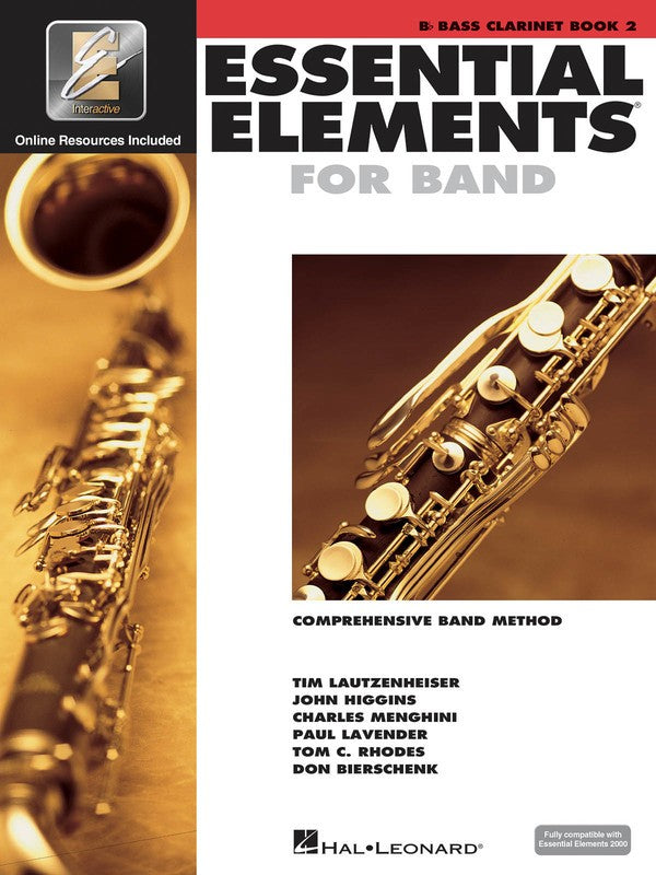 ESSENTIAL ELEMENTS FOR BAND BK2 BASS CLAR EEI