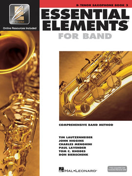 ESSENTIAL ELEMENTS FOR BAND BK2 TENOR SAX EEI