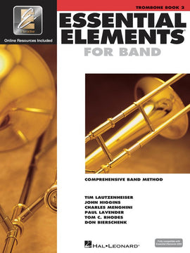 ESSENTIAL ELEMENTS FOR BAND BK2 TROMBONE BK/CD