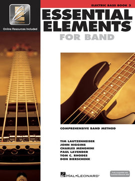 ESSENTIAL ELEMENTS FOR BAND BK2 ELEC BASS BK/CD