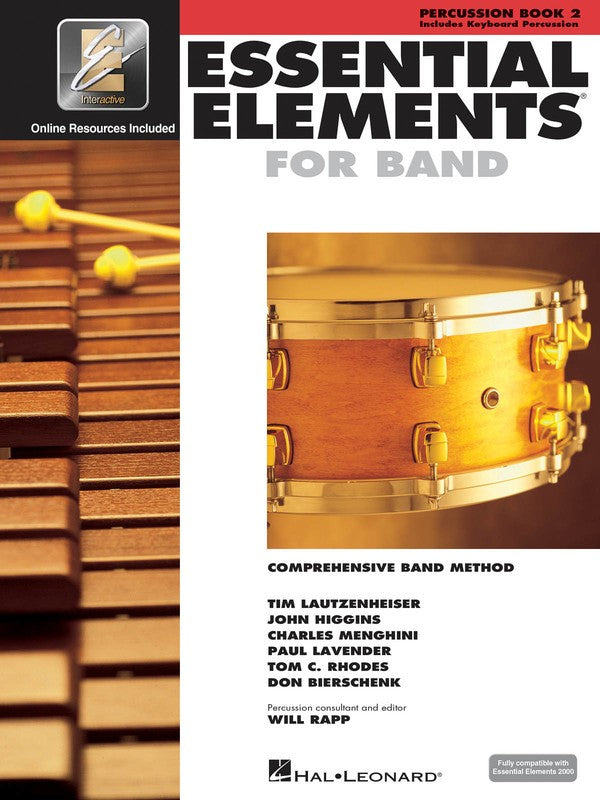 ESSENTIAL ELEMENTS FOR BAND BK2 PERC EEI