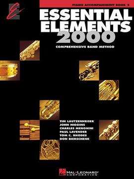 ESSENTIAL ELEMENTS 2000 BK2 PIANO ACC EE