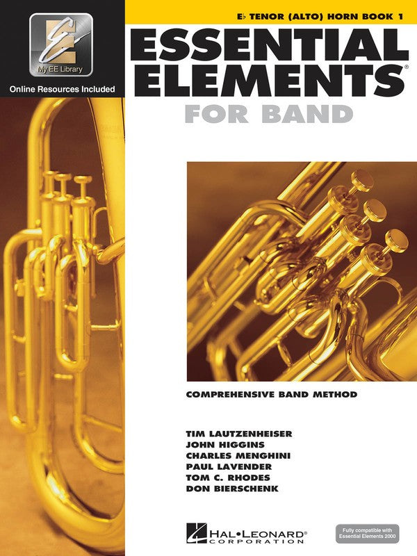 ESSENTIAL ELEMENTS 2000 BK1 E FLAT TENOR HORN BK/CD EE