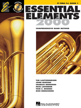 ESSENTIAL ELEMENTS 2000 BK1 E FLAT TUBA TC BK/CD EE