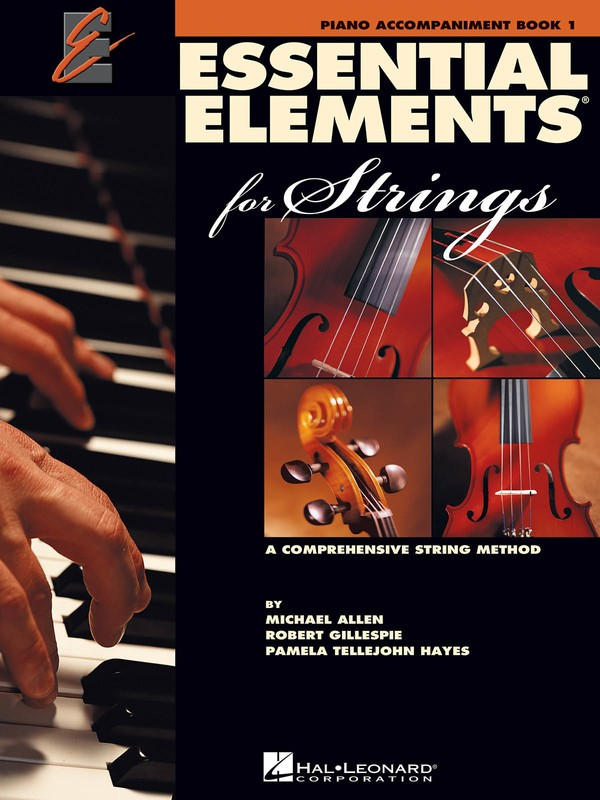 ESSENTIAL ELEMENTS 2000 BK1 STGS PIANO ACCOMP EE