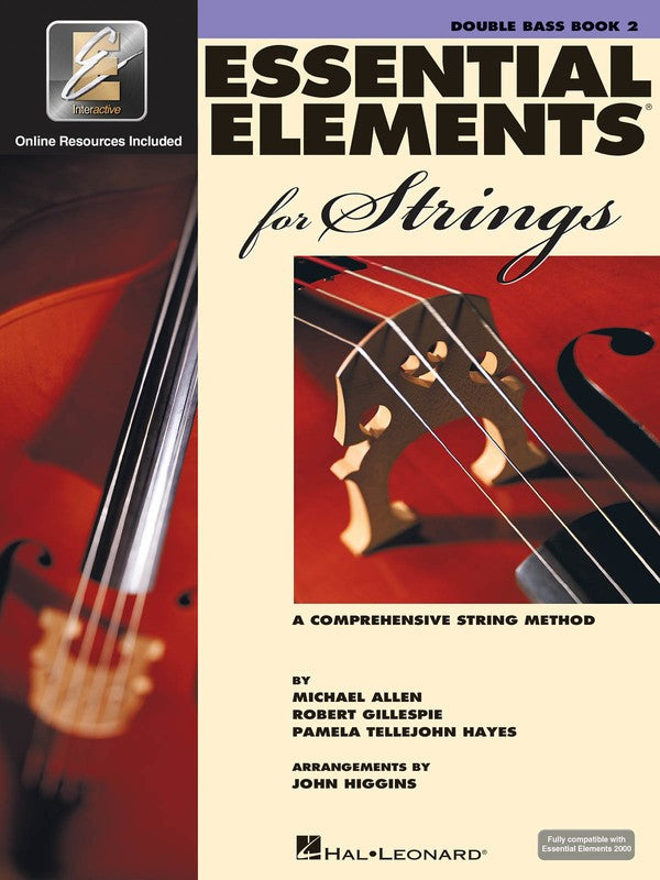 ESSENTIAL ELEMENTS FOR STRINGS BK2 BASS EEI
