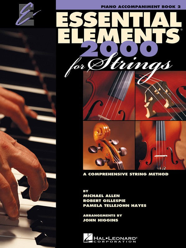 ESSENTIAL ELEMENTS 2000 BK2 STGS PIANO ACCOMP EE