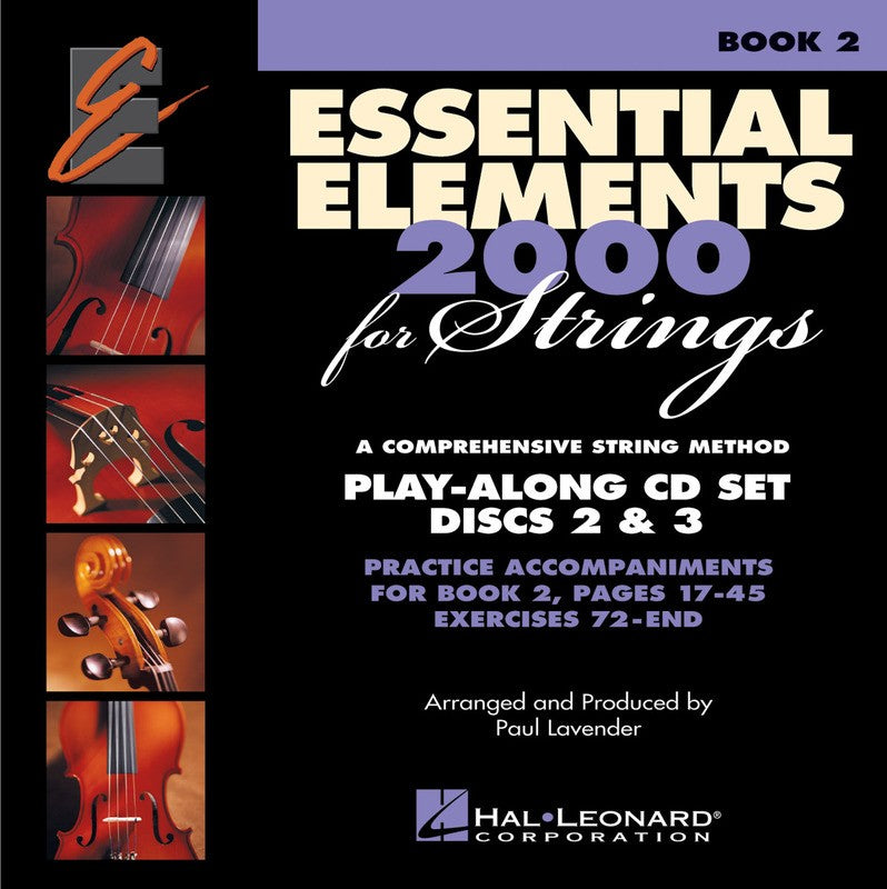 ESSENTIAL ELEMENTS 2000 BK2 STGS CDS 2 & 3 (O/P)
