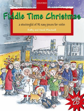 FIDDLE TIME CHRISTMAS 32 EASY PIECES BK/CD