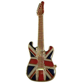 Mini Pin Strat British Flag