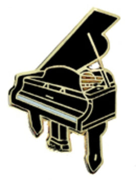 Mini Pin Grand Piano Black