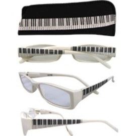 Reading Glasses Keyboard White +1.75