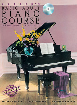 AB ADULT PIANO LESSON LEVEL 1 BK/CD