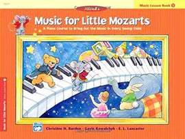 MUSIC FOR LITTLE MOZARTS LESSON BK 1