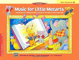MUSIC FOR LITTLE MOZARTS WORKBOOK 1