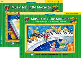 MUSIC FOR LITTLE MOZARTS LESSON BK 2