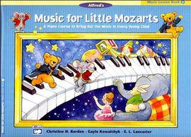 MUSIC FOR LITTLE MOZARTS LESSON BK 3