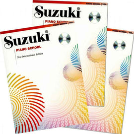 SUZUKI PIANO SCHOOL BK 2 BK/CD NEW INT ED 2008