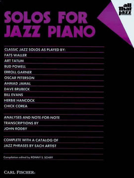 SOLOS FOR JAZZ PIANO