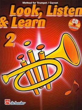LOOK LISTEN & LEARN PART 2 TRUMPET BK/CD