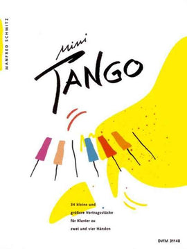 MINI TANGO 34 RECITAL PIECES SOLO AND DUET