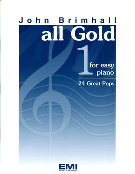 ALL GOLD BK 1 EASY PIANO