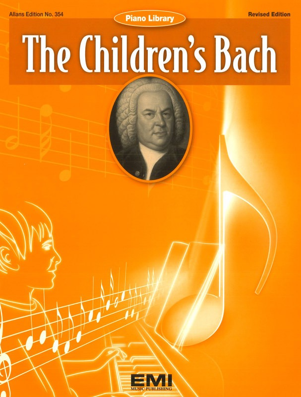 CHILDRENS BACH EASY PIANO