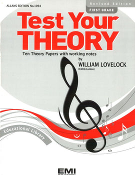 TEST YOUR THEORY GR 1