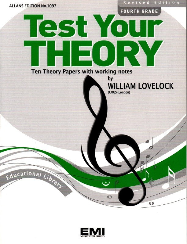 TEST YOUR THEORY GR 4
