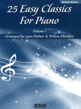 25 EASY CLASSICS FOR PIANO BK 1