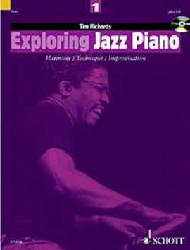 EXPLORING JAZZ PIANO BK 1 BK/CD