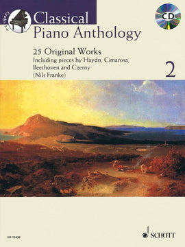 CLASSICAL PIANO ANTHOLOGY V2 BK/CD