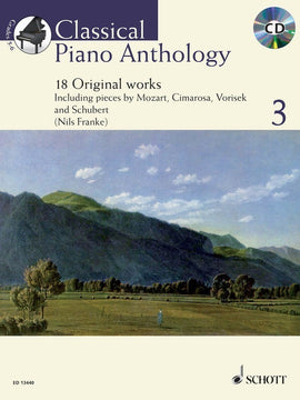 CLASSICAL PIANO ANTHOLOGY V3 BK/CD