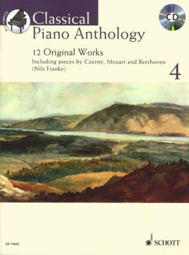 CLASSICAL PIANO ANTHOLOGY V4 BK/CD