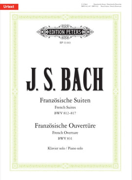 JS BACH FRENCH SUITES BWV 812–817 & FRENCH OVERTURE BWV 831