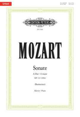 MOZART - PIANO SONATA A MAJOR K 331 (300I) URTEXT