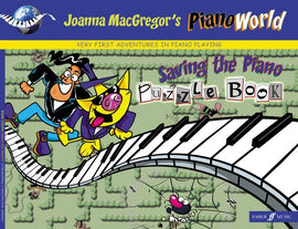 PIANOWORLD SAVING THE PIANO PUZZLE BOOK
