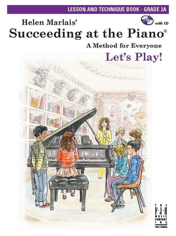 SUCCEEDING AT THE PIANO GR 2A LESSON TECH BK/CD