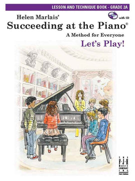 SUCCEEDING AT THE PIANO GR 2A LESSON TECH BOOK