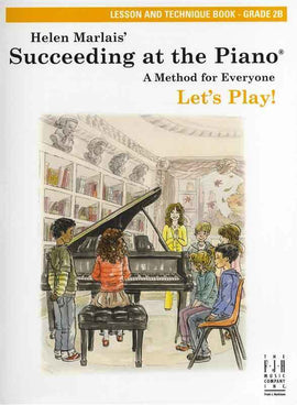 SUCCEEDING AT THE PIANO GR 2B LESSON TECH BK/CD